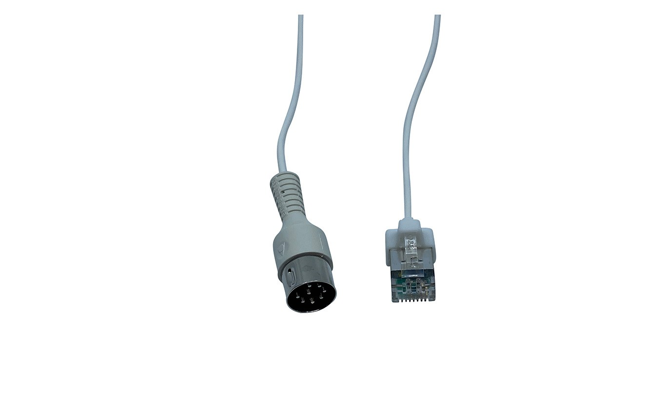Kabel PL Power Link DIN/RJ45 ø 2,5mm - Weiß